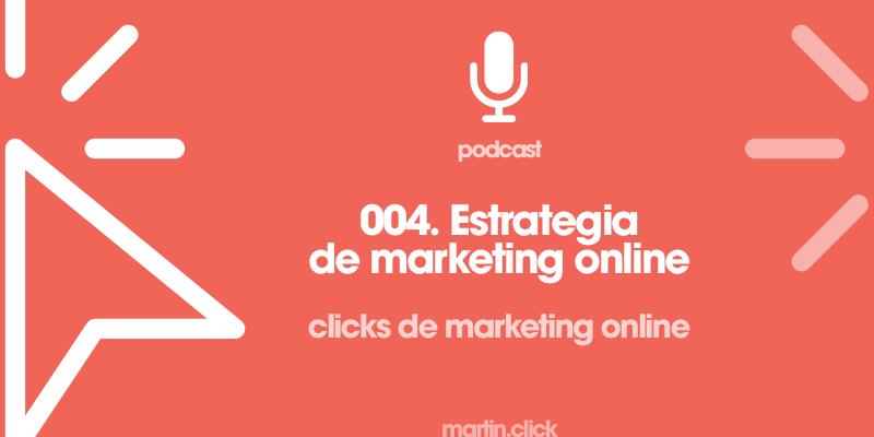 4. Estrategia de marketing online