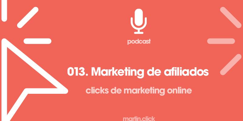 13. Marketing de afiliados