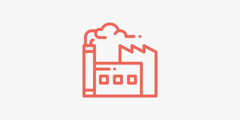 42. Empresas industriales, de distribución y comercios