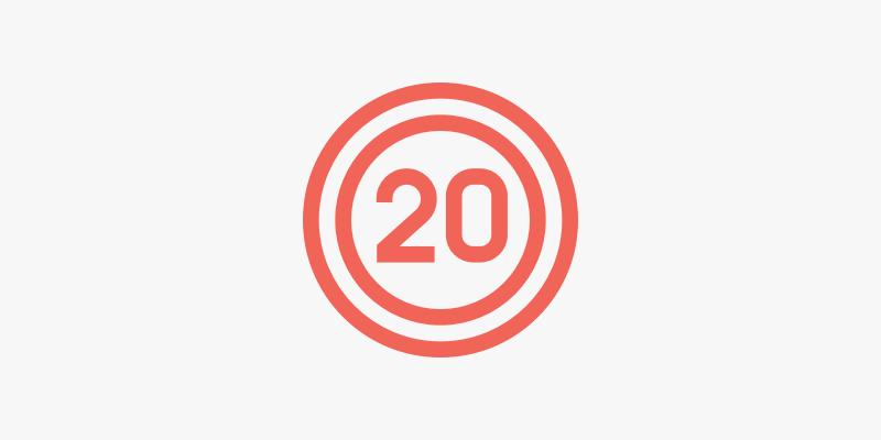 155. Dedicar 20 minutos a administrar cada día