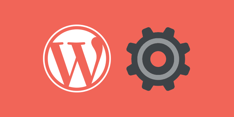 Ajustes generales de WordPress