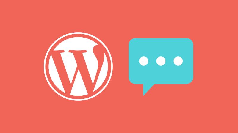 Ajustes de comentarios de WordPress