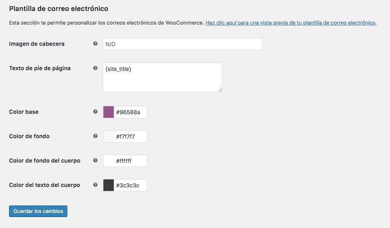 Modifica el aspecto visual de los correos electrónicos de WooCommerce con estas opciones