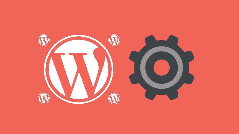 Ajustes de la red en un WordPress Multisite