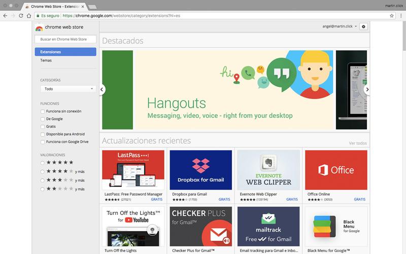 Accede a la Chrome Web Store y busca la extensión Video Speed Controller