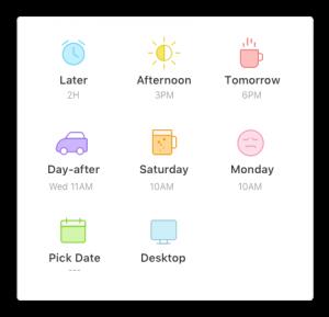 ¿Cómo gestionar tu correo de forma eficiente con Newton? - Posponer emails