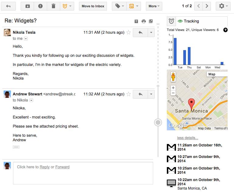 Con el tracking de seguimiento podrás saber la respuesta que tienen tus envíos, incluso sin que te contesten