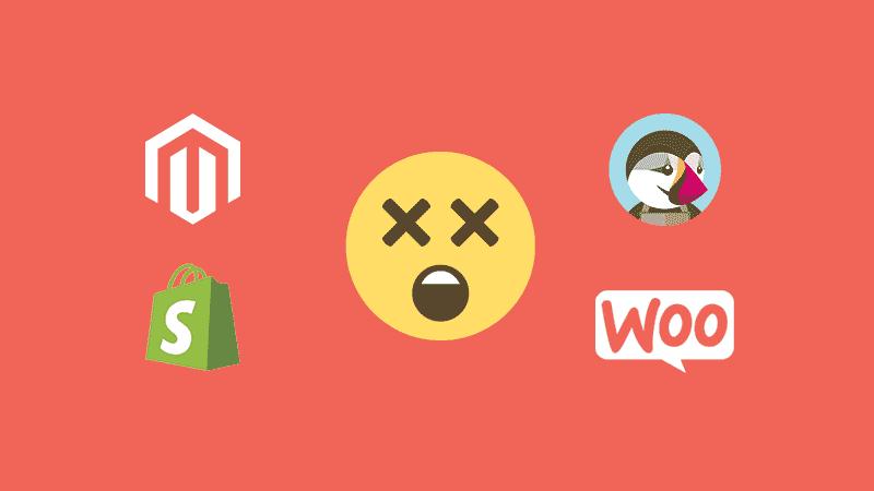 Diferencias entre Magento, PrestaShop, Shopify y WooCommerce
