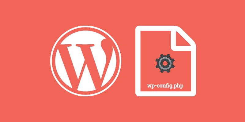 El archivo wp-config.php de WordPress