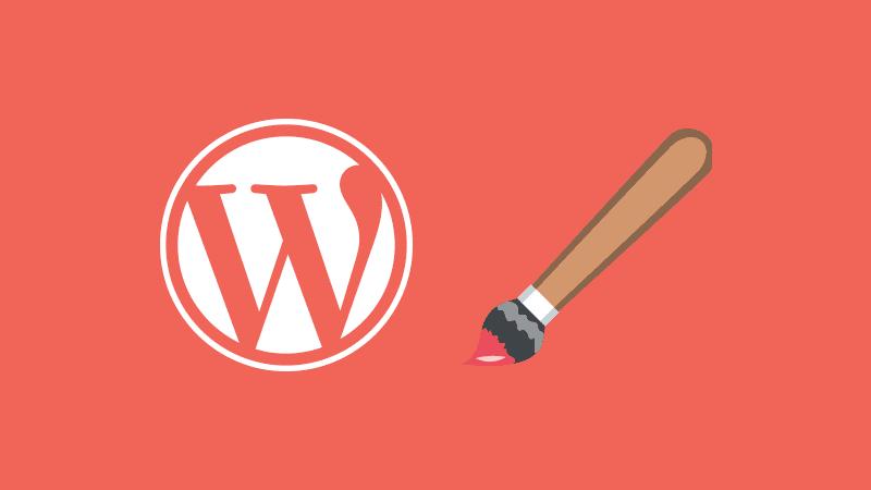 El menú de apariencia de WordPress