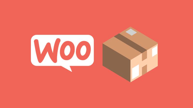El menú de productos de WooCommerce