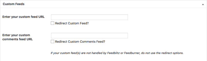 Metabox Custom Feeds