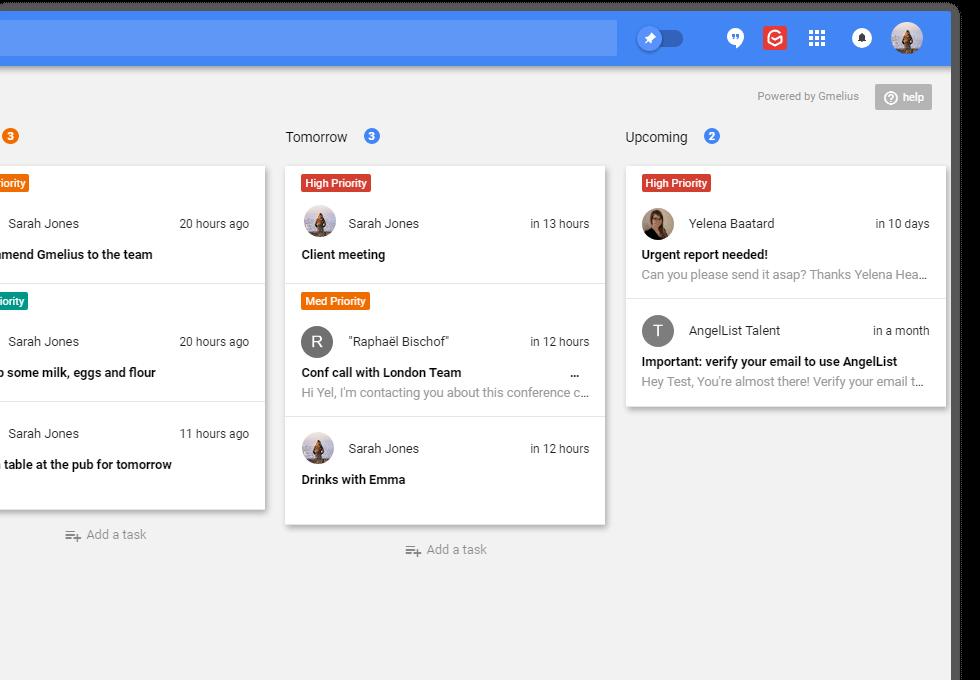 Añade tantos tableros Kanban como proyectos tengas en marcha y ten ordenadas todas tus tareas