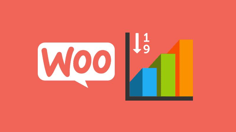 Informes en WooCommerce: inventario