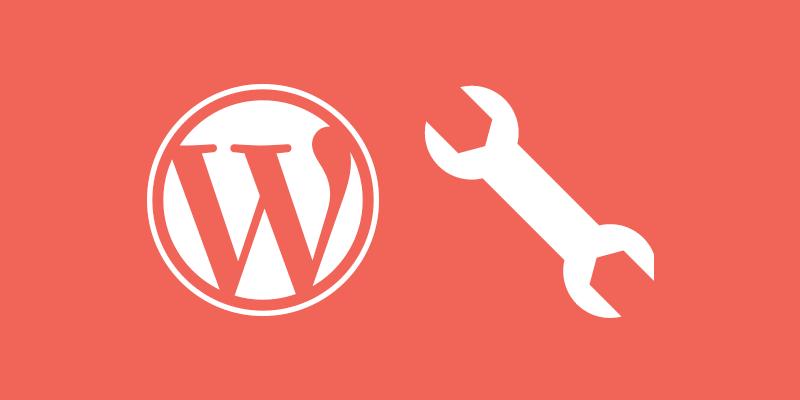 El menú herramientas de WordPress