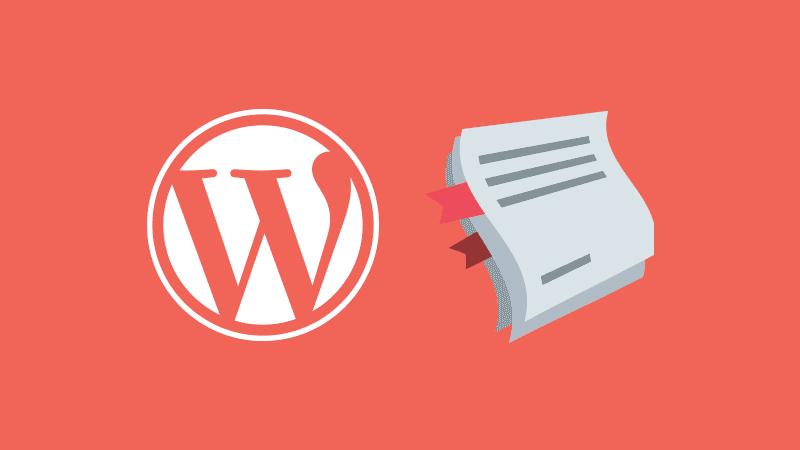 Las páginas de WordPress