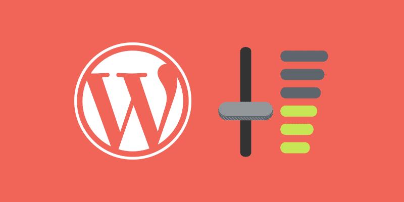 Los ajustes de WordPress