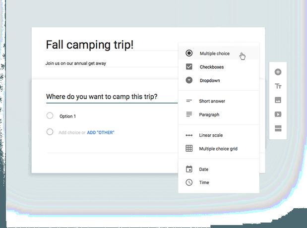 Realiza todo tipo de encuestas con los Formularios de Google Drive