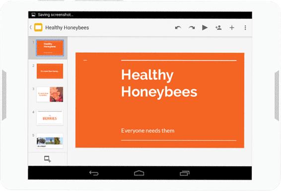 Diseña presentaciones de diapositivas profesionales disponibles en cualquier dispositivo y lugar con Presentaciones de Drive