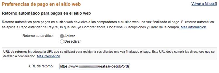 Indica la URL de retorno a la que serán dirigidos tus usuarios cuando el pago se haya completado