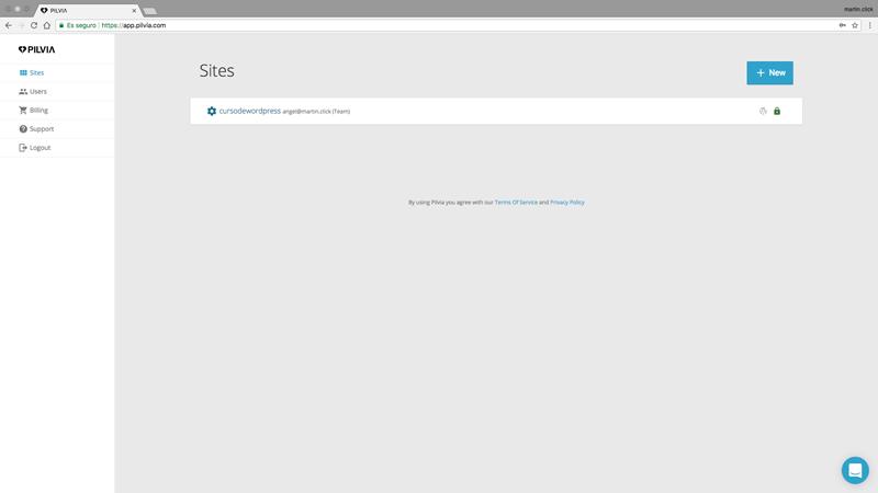 Puedes crear tantos sites como quieras y puedes almacenarlos tanto tiempo como necesites